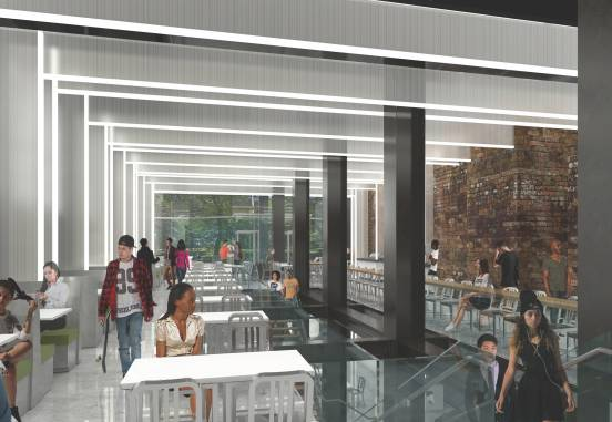 Emerson College Piano Row Dining Hall Vanderweil Engineers